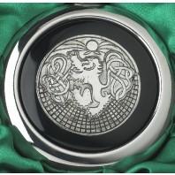 Celtic Lion Whiskey Flask