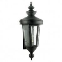 'Cheltenham' Black Veranda Lantern or Wall Lantern