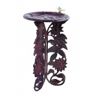 """Woodson Grove"" Sunflower Bird Bath"