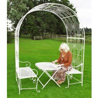 """Clancy Manor"" Rose Arch & Dining Collection"