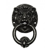"""Salvendale"" Black Lion Door Knocker"