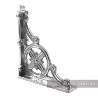 """Delpi"" Aluminium Shelf Bracket 31 x 28cm"