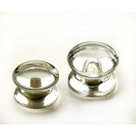Clear Glass Cupboard Knob