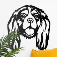 Cavalier King Charles Spaniel Steel Wall Art