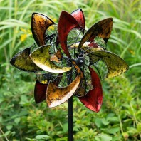 Colourful Butterfly Design Wind Spinner