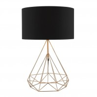 Contemporary Copper Table Lamp
