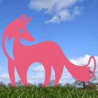 Contemporary Fox Silhouette- Various Colours