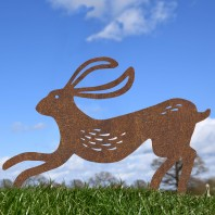 Rustic Contemporary Hare Silhouette