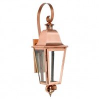 """Cleobury"" Copper Wall Lantern"