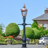 Copper Victorian Lamp Post - Miniature 1.5m