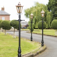 Victorian Lamp Post - Copper 2.3m
