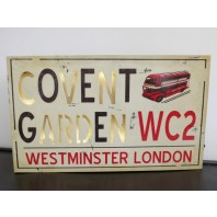 Modern Covent Garden Wall Sign