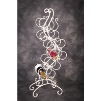 """""""Dickory Cottage"""" Vintage Style Free Standing Wine Rack"""