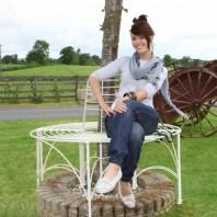 "Cream ""Pembrokeshire"" Half Tree Seat"