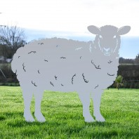 Curly Sheep Iron Silhouette - Various Colours