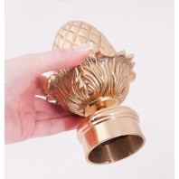 "Curtain Rod Finial ""Acorn"""