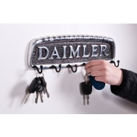 Daimler car key and hook rack