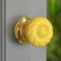 """Butter Churn"" Door Knobs Version 7"