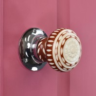 Pattern Door Knobs