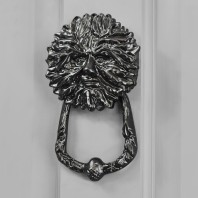 Black Green Man Door Knocker
