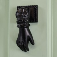 Black Hand Door Knocker
