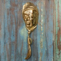 Brass Pirate Door Knocker