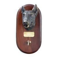 English Bull Terrier Dog Lead Holder