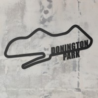 Donington Park Motor Racing Circuit Steel Wall Art