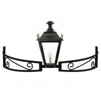 Black Dorchester Bow Bracket Light