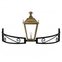 Antique Brass Dorchester Bow Bracket Light