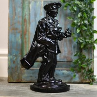 """Wilson Green"" Cast Iron Golfer Door Stop"