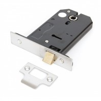 3 Lever Horizontal Latch - Stainless Steel 5""