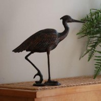 Egret Bird Ornament