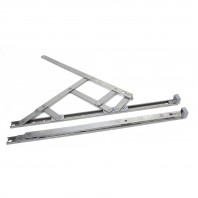 Stainless Steel Defender Friction Hinge - Side Hung 16""