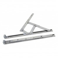 Stainless Steel Defender Friction Hinge - Top Hung 12""