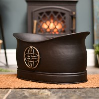 """Cynbel Kiln"" Celtic Log & Coal Holder"