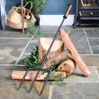 Wide Traditional Fireside & Firepit Fork
