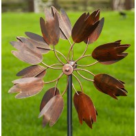 """Floral Magic"" wind spinner"