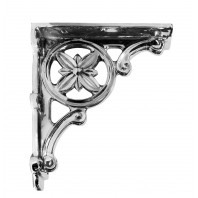 """Delphi"" Classic design chrome brackets 31 x 28cm"