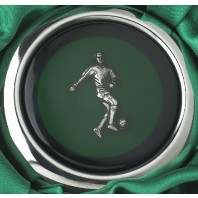 Footballer Whiskey Flask