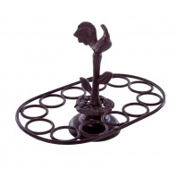 """Anthome House"" Classic Cast Iron Egg Rack"