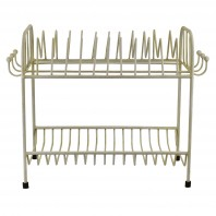 Freestanding Draining Rack - White