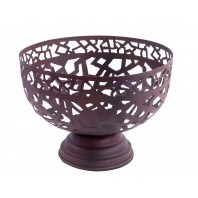"""Aztec"" Rustic Design Fruit Bowl"