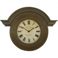 French Style Weathered Wooden Wall CLock
