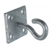 Galvanised Wall Mounting Chain Hook