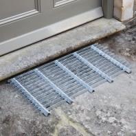 Galvanised Steel Grid Door Mat - 80cm by Garden Trading