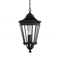 Gas Lamp Inspired Hanging Porch Lantern