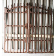 """Peveril Towers"" Rustic Iron Gates"