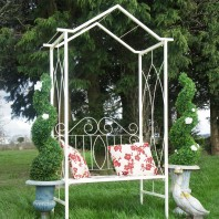 """Lady Elinor"" Garden Arbour Bench"