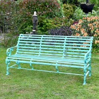 "Robust ""Chatham"" Park Bench - Green"